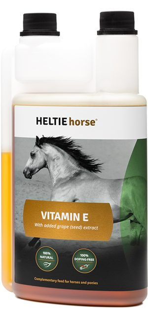 Vitamine E with grape extract for horses